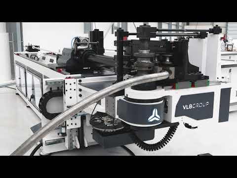FULLY ELECTRIC CNC TUBE BENDER EB83CNC Stainless steel OD60.3 Urban furniture Fix + Variable radius