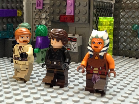 Lego Star Wars: Obi-Wan Kenobi's Death - A Clone Wars Stop Motion