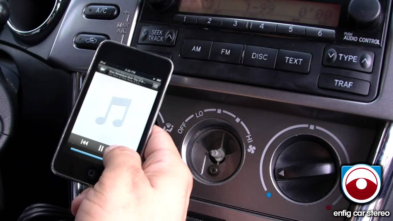 Ipod Iphone Or Aux Adapter Toyota Matrix 2005 2008