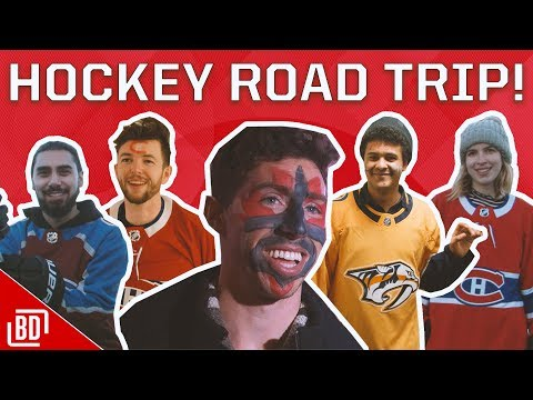 THE ULTIMATE HOCKEY ROAD TRIP