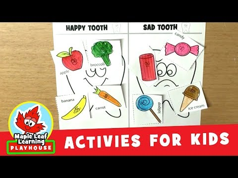 Dental Hygiene Activity for Kids | Maple Leaf Learning Playh
