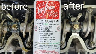Seafoam results i cant believe what it done to my engine