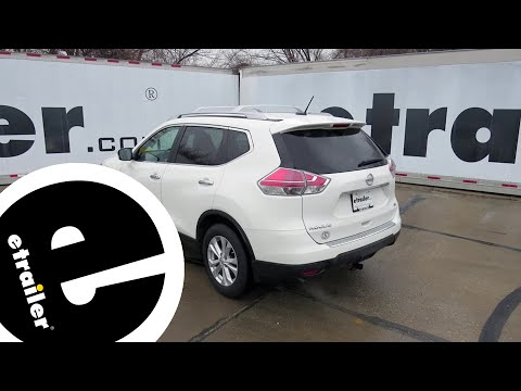 Etrailer | Trailer Wiring Harness Installation - 2016 Nissan Rogue