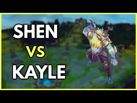Infernal Shen vs Kayle Unranked to Diamond Ep. 1 - League of Legends