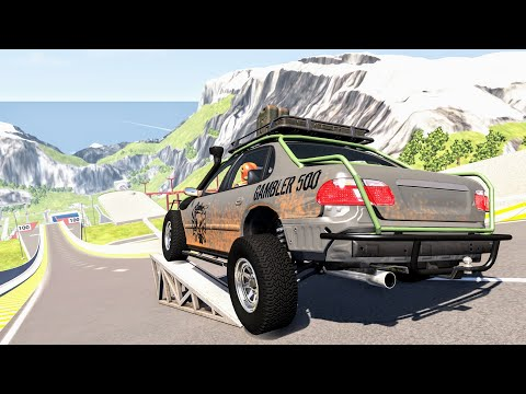Satisfying Rollover Crashes #10 – BeamNG Drive | CrashBoomPunk