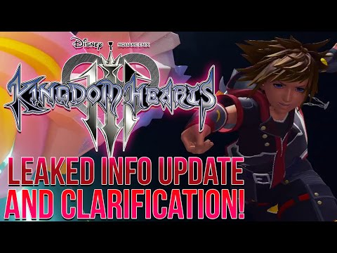 Kingdom Hearts 3 Recent Rumours UPDATE - Clarification, Originally 2017 Release?