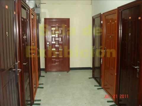 Mr puerta 13 telf 395 9383 puertas de seguridad youtube for Modelos de puertas y precios