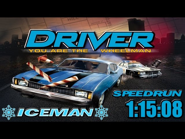 Driver || Speedrun Walkthrough || Former World Record || 1:15:08