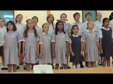 The English College Dubai - Primary Choir singing Sing Song