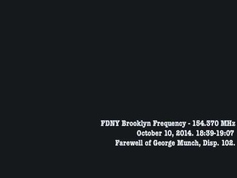 FDNY Dispatcher 102 Signs Off, Oct. 10, 2014.