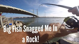 Jetty Fishing For Tog! Craziest Catch Of My Life!