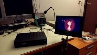 LimeSDR demo: High Definition Video Transmission using GNU Radio