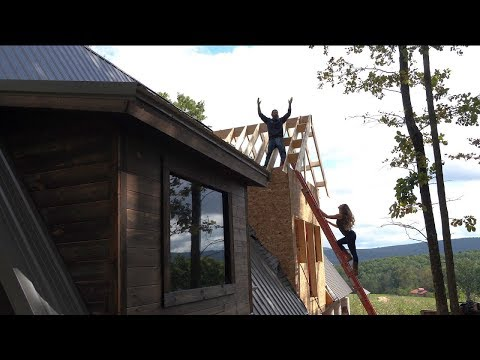 The MOST Challenging DIY Roof EVER!