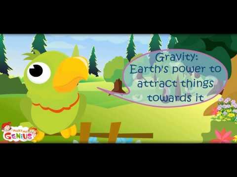 Gravity -School Lesson Part 1-makemegenius.com series of Education Videos