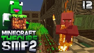 The Cube Smp 2 -episode 12 - Zombie Siege Precautions