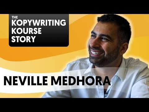 Neville Medhora from Kopywriting Kourse on how to write like a champion