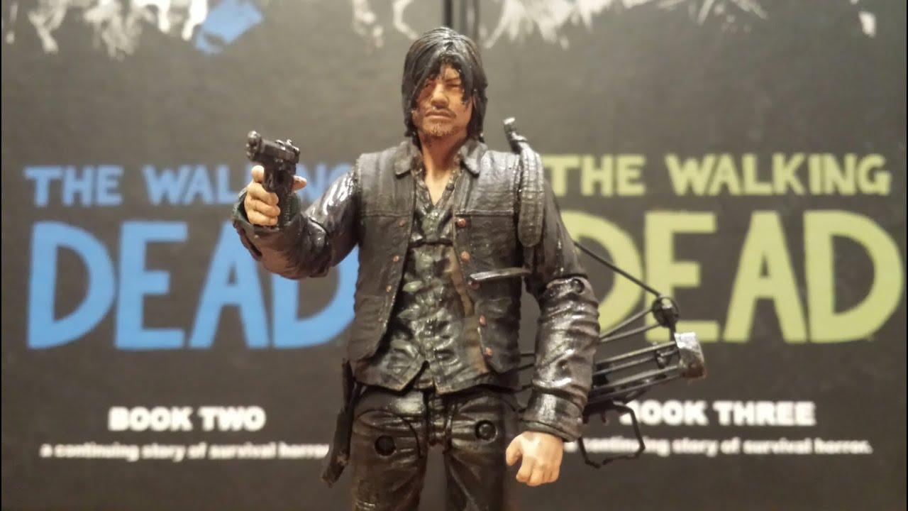 Mcfarlane walking dead series 6 daryl dixon action figure - The Walking Dead Custom Daryl Dixon Action Figure Review Hd Youtube