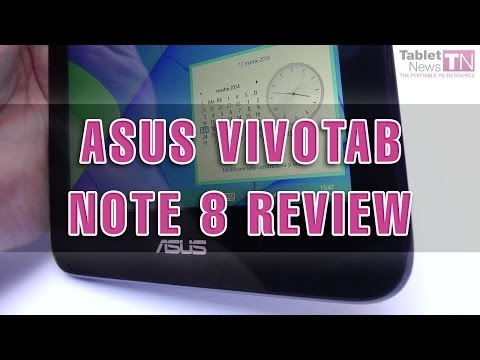 ASUS Vivotab Note 8 Review (Windows 8.1/ Bay Trail Tablet)