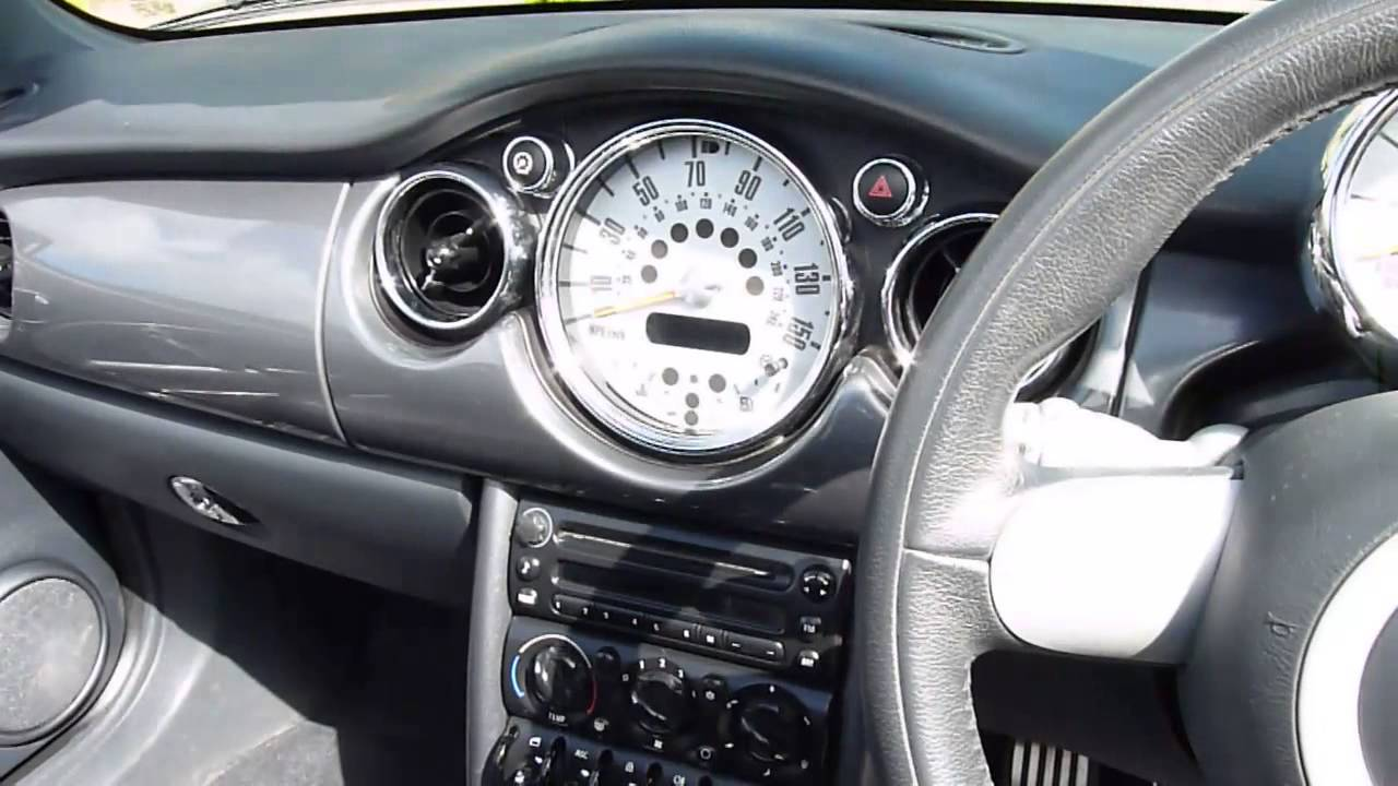 Review Of 2006 Mini Cooper S 1 6 Convertible For Sdsc Specialist Cars Cambridge You