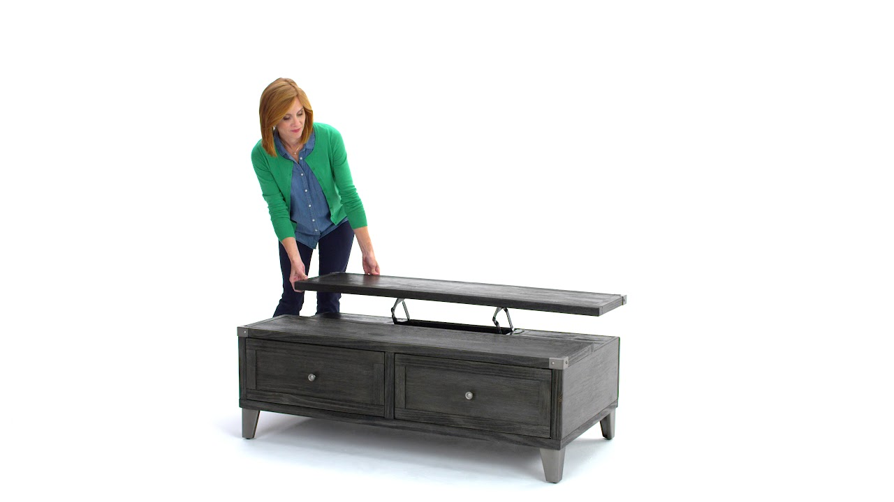 Ashley Homestore Todoe Coffee Table With Lift Top Youtube