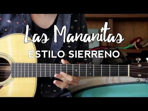 Las Mañanitas - Estilo Sierreño - Los Plebes del Rancho - Tutorial - Requinto - Acordes