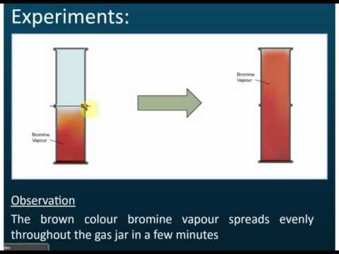 What is diffusion in chemistry?