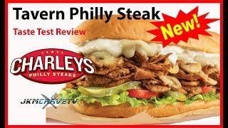 Charleys Philly Steaks | Tavern Philly | Taste Test Review | JKMCraveTV 😀