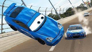 Sally's Big Crash! | Forza Motorsport 7 | NASCAR