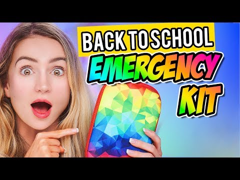 Back to School Emergency Kit!  How to Survive the School Year