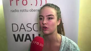 Interview mit Nina Hischier - Sport Awards 2017