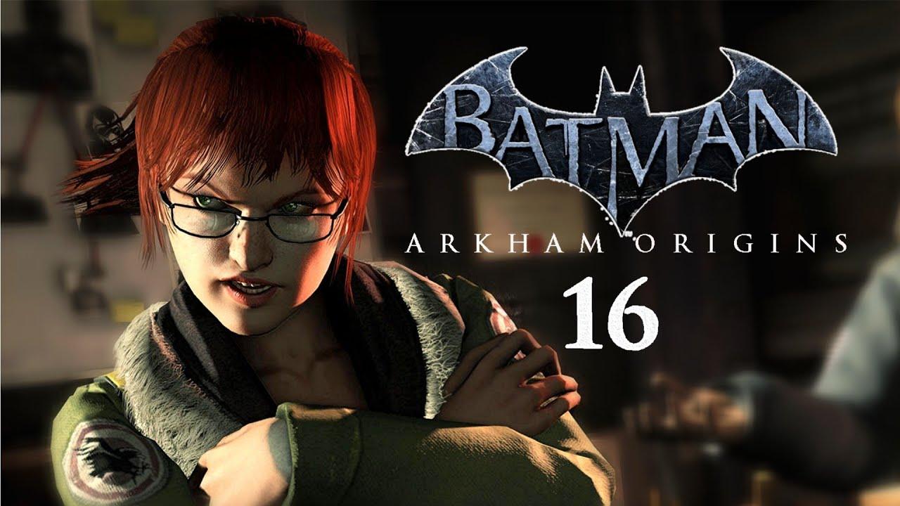 batman arkham origins 16 quotbarbara gordonquot lets