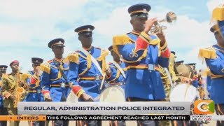 President Uhuru launches the new face of police service #Daybreak
