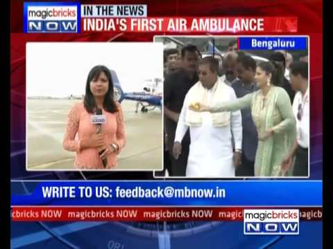 Bengaluru launches India's first air ambulance service- The News