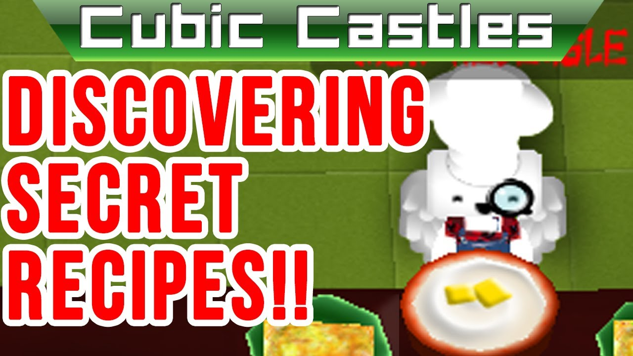 Cubic castles how to cook i discover a secret recipe youtube cubic castles how to cook i discover a secret recipe forumfinder Image collections