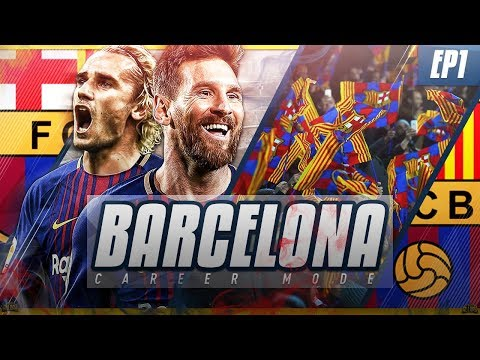 FIFA 18 Barcelona Career Mode - EP1 - New Season Begins!! Crazy £110m Signing!!