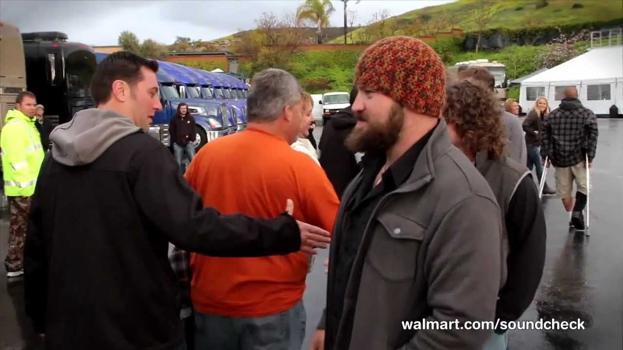 All access on walmart soundcheck fans experience eat and greet with all access on walmart soundcheck fans experience eat and greet with zac brown band m4hsunfo