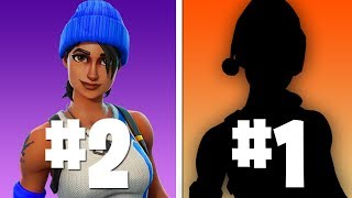 TOP 10 BEST FREE SKINS! - Fortnite Battle Royale