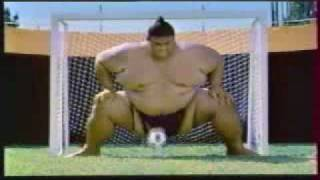 Pepsi Sumo Soccer Footbal Funny Commercial   CEO