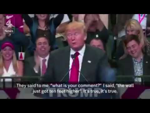 Trump Song - The Wall (Who's Gonna Pay?)