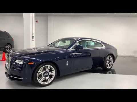 2019 Rolls Royce Wraith Bespoke Interior   Walkaround 4k720p