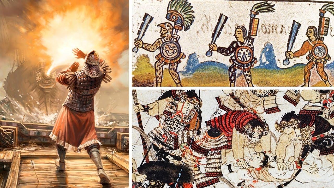 Las 10 Armas mas TERRORÍFICAS de la Antigüedad 💀