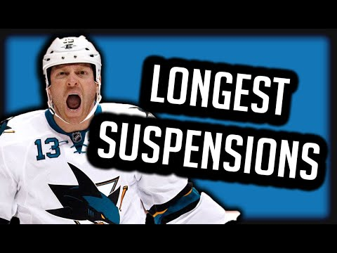 NHL/Longest Suspensions EVER
