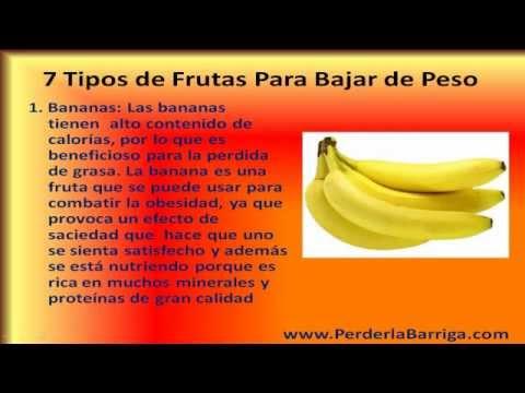 Las frutas para bajar de peso youtube - Que cenar para perder peso rapido ...
