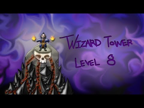 Clash of Clans - Wizard Tower Level 8 (idea) Speed Art