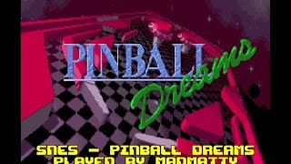SNES Longplay [348] Pinball Dreams