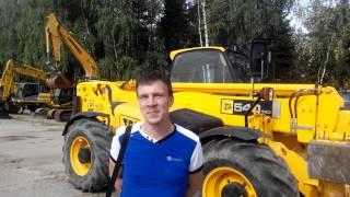 Отзыв покупателя телескопического погрузчика JCB(ООО