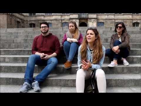 Malagueños en Rennes (Francia)