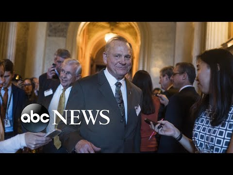 GOP Senate candidate Roy Moore denies allegations