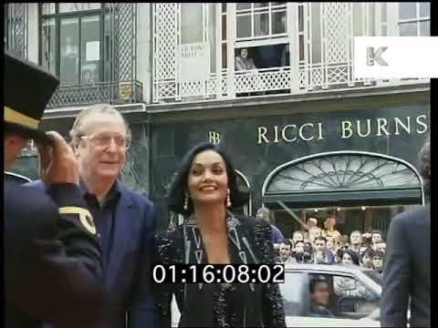 1995 London Celebrity Party Arrivals | Kinolibrary