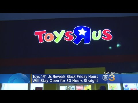 Toys 'R' Us Reveals Black Friday Hours